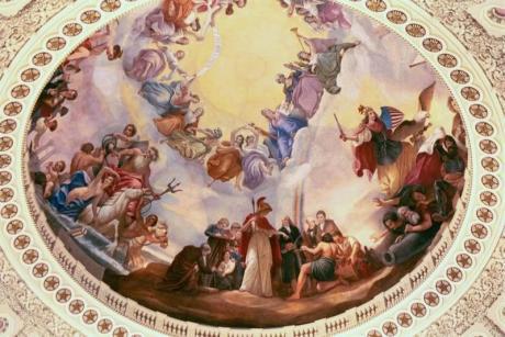 US Capitol Rotunda- The Apotheosis of Washington
