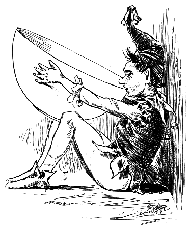 Illustration by Edmund H. Garrett, 1888, from Brownies and Bogles by Louise Imogen Guiney