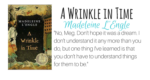 A wrinkle in time featured