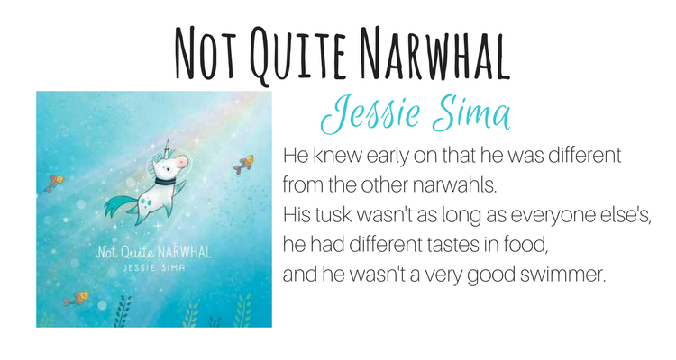 Not Quite Narwhal by Jessie Sima