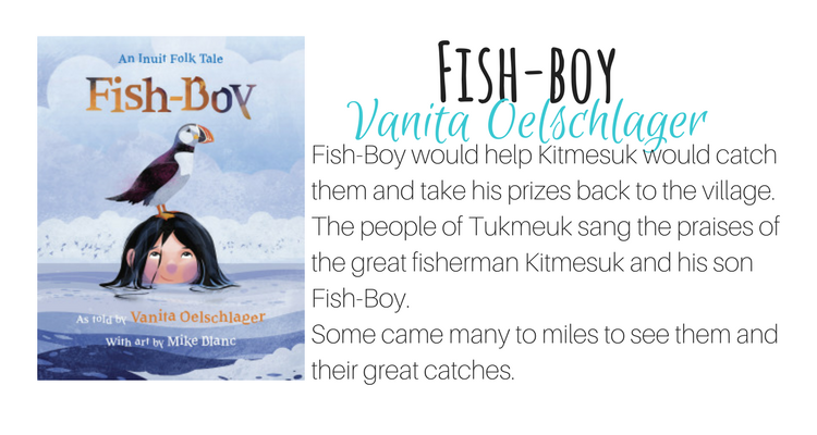 Fish-Boy by  Vanita Oelschlager