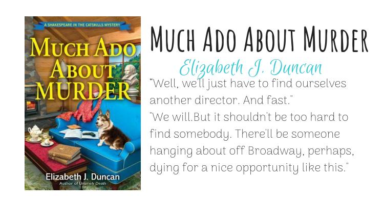 Much Ado About Murder by Elizabeth J. Duncan