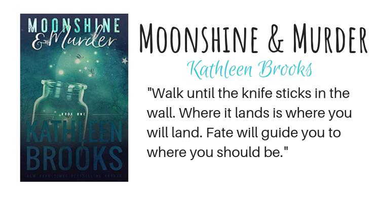 Moonshine & Murder by Kathleen Brooks