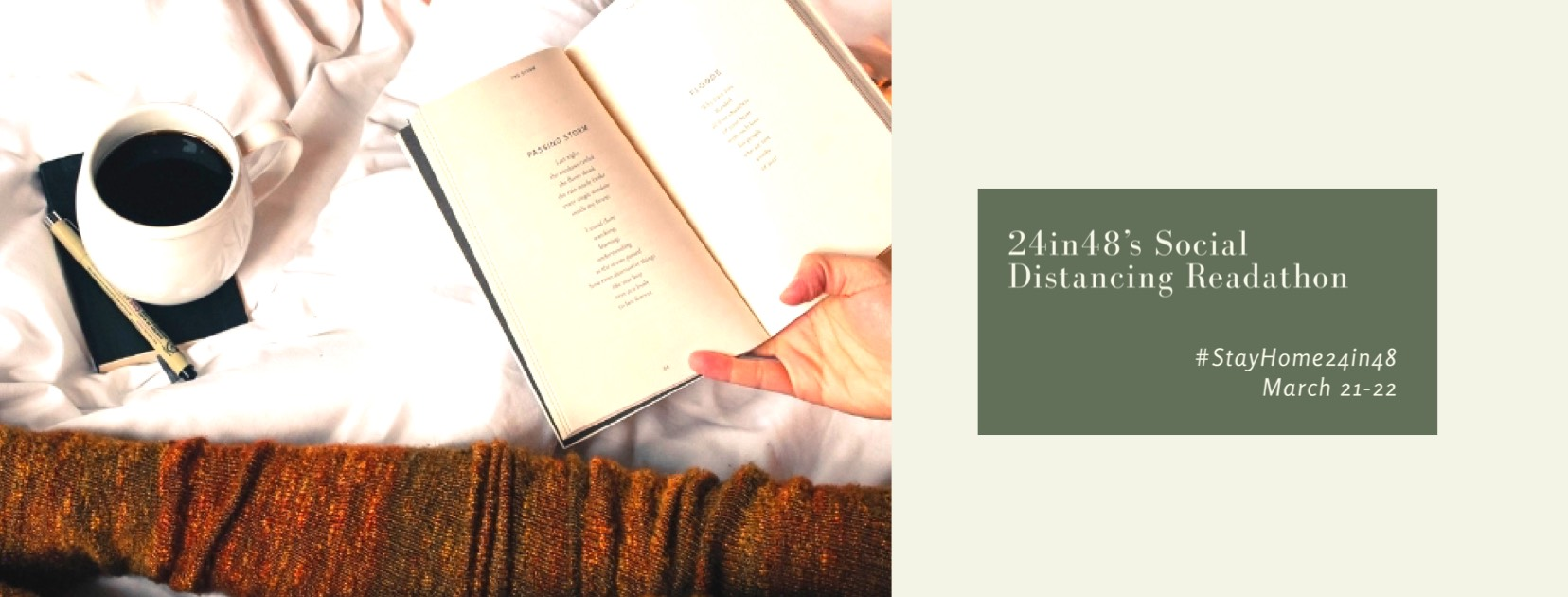 24in48 Readathon: Social Distancing Edition