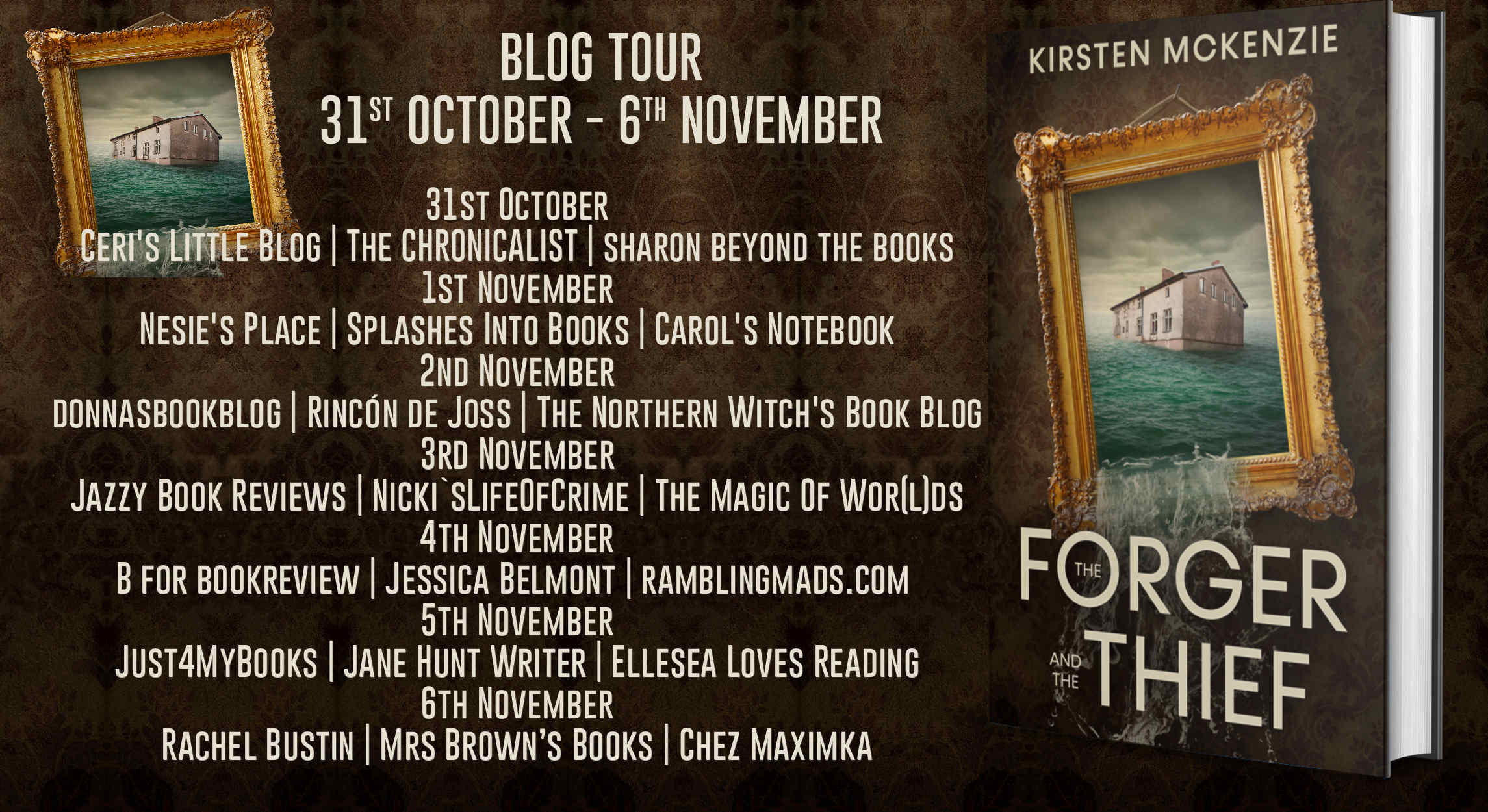 The Forger and the Thief by Kirsten McKenzie