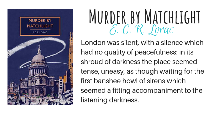 Murder by Matchlight by E. C. R. Lorac