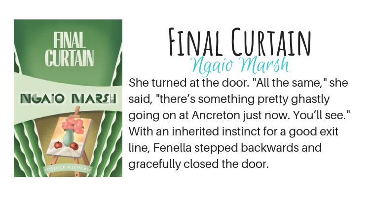 Final Curtain by Ngaio Marsh
